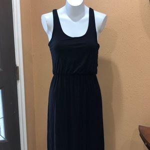 Jolie black maxi dress